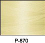 ThreaDelight Polyester Embroidery Thread Cream