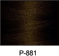 ThreaDelight Polyester Embroidery Thread Ebony