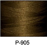 ThreaDelight Polyester Embroidery Thread Metal Brown