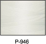ThreaDelight Polyester Embroidery Thread White
