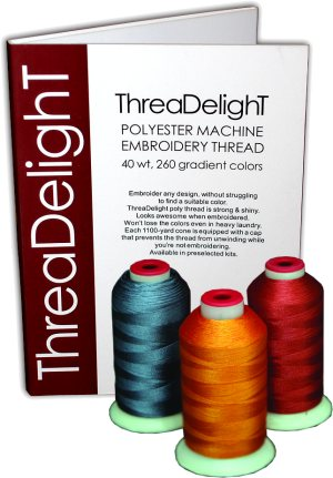 260 ThreaDelight Poly Embroidery Thread Kit ThreaDelight