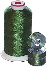 Matching Bobbins & Thread - Parrot Green MD Color