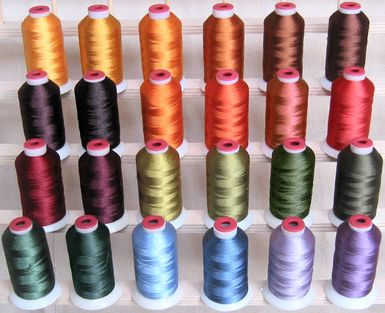 Fall Colors Polyester Thread!