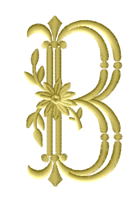 B from Royal Heritage Alphabet