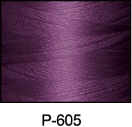 ThreaDelight Polyester Embroidery Thread Deep Violet 60WT
