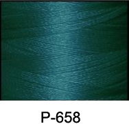 ThreaDelight Polyester Embroidery Thread Peacock Blue DK