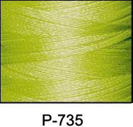 ThreaDelight Polyester Embroidery Thread Avocado Green LT