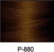 ThreaDelight Polyester Embroidery Thread Coffee Brown DK 60WT
