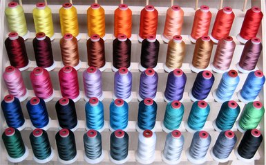 50 Polyester Embroidery Threads ThreaDelight