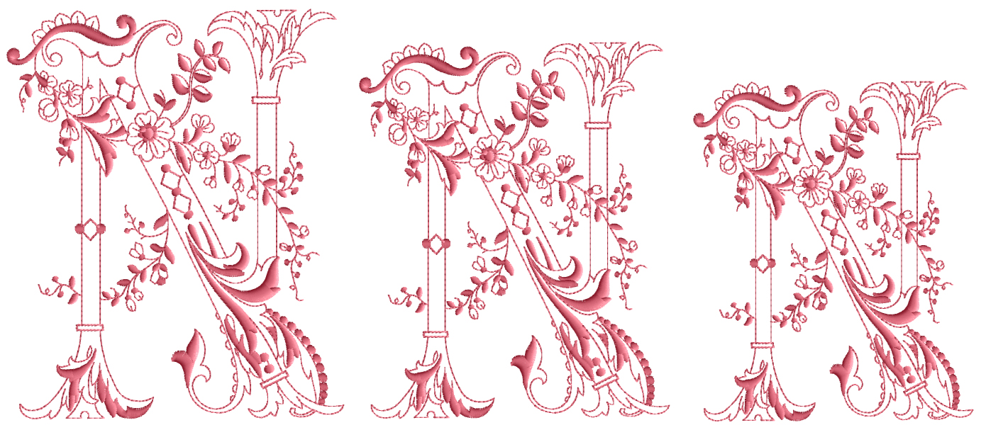 Enlaced-Romance-Embroidery-Designs-Alphabet N