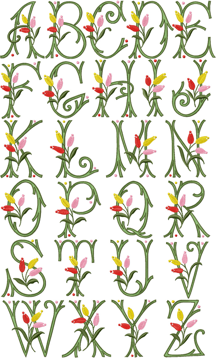 Free Floral Fonts
