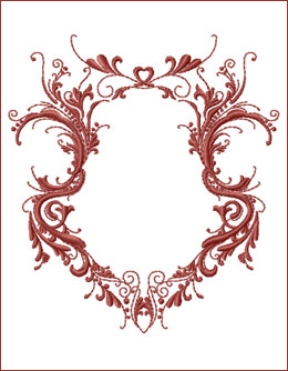 Frame 1 embroidery design