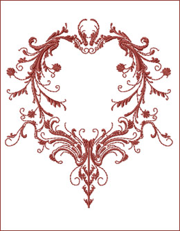 Frame 5 embroidery design
