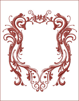 Frame 8 embroidery design