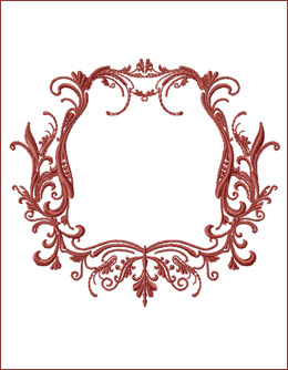 Frame 9 embroidery design