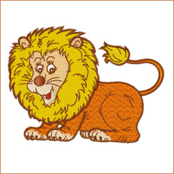 Leo-King of the Jungle embroidery designs