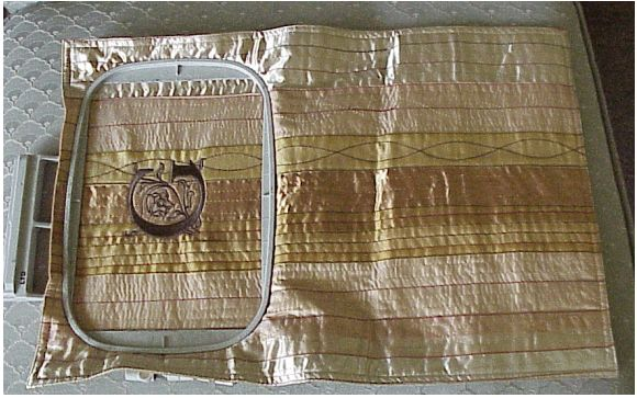 Elegant and Easy Cosmetic Bags with Victorian Monogram Embroidery Project