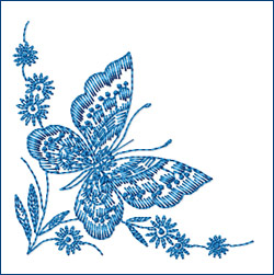 Butterfly 6 embroidery designs