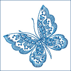 Butterfly 7 embroidery designs