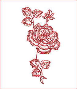 Flower 1 embroidery designs
