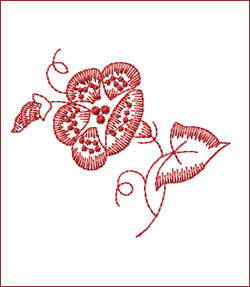 Flower 5 embroidery designs