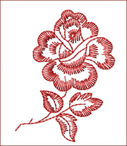 Flower 6 embroidery designs