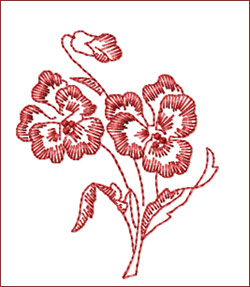 Flower 7 embroidery designs