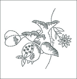 Garden 2 embroidery designs