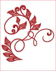 Vibrant Ivy 3  embroidery design