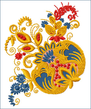 The Blossom embroidery designs