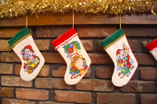 Stockings Embroidery Designs