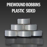 Plastic Sided Pre-Wound Bobbins
