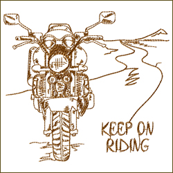 Keep On Riding