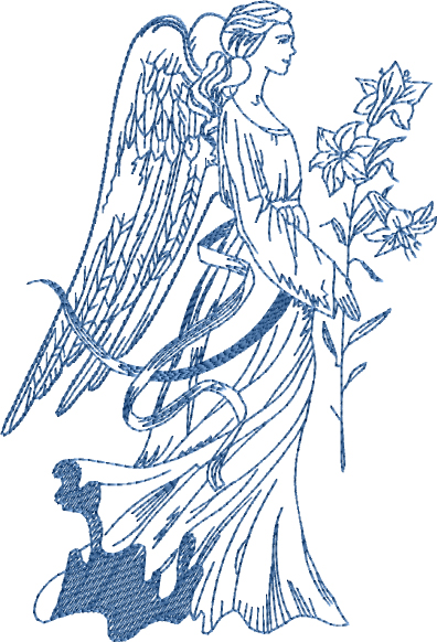 Guardian-Angel-2 Embroidery Designs