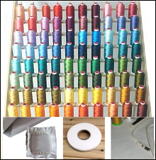 100 Polyester Embroidery Thread Kit 40wt ThreaDelight
