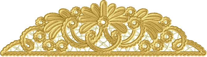 border edge lace Embroidery Designs