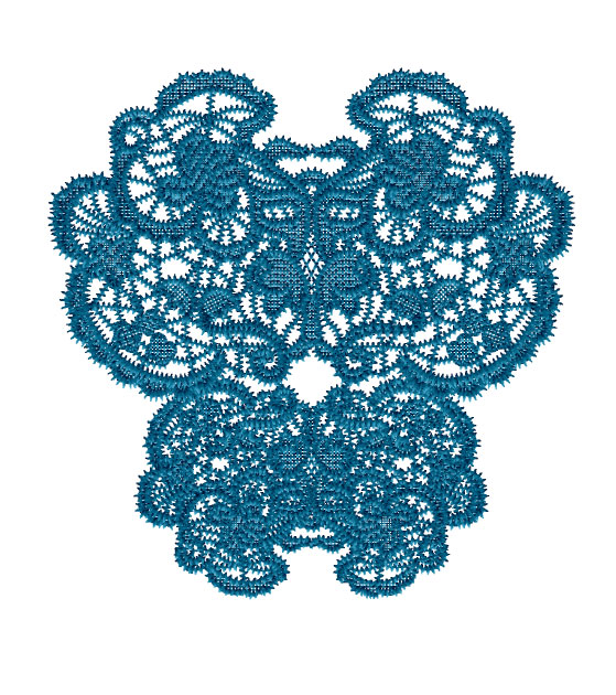 Lace Butterfly 1 Embroidery Designs