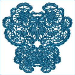 Laced Butterfly Doily 1