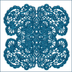 Laced Butterfly Doily 2