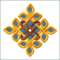Celtic Ornament 3 embroidery design