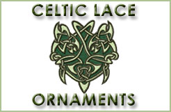 Celtic Lace Ornaments