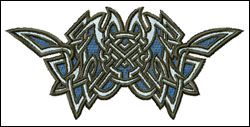 Celtic Symbol 3 embroidery design