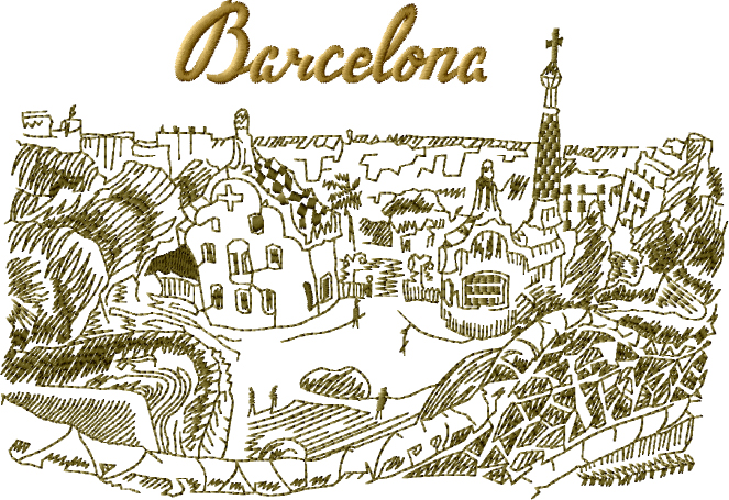 Barcelona Embroidery Designs