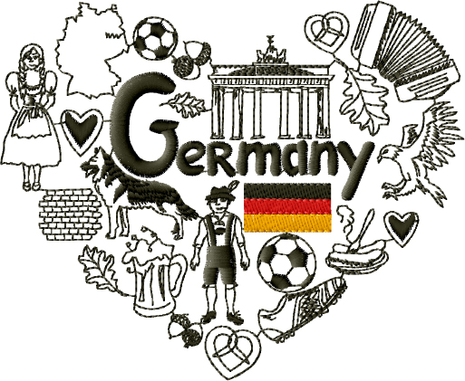 Germany Embroidery Designs