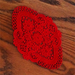 Lace Coaster Doily