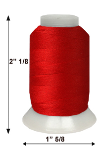 ThreaDelight P-533 Christmas Red 60WT
