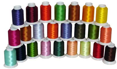 Bobbin Thread (60wt) Kit 24 colors