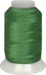 ThreaDelight Polyester Embroidery Thread Fresh Green 60 WT