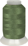 ThreaDelight Polyester Embroidery Thread Parrot Green MD 60 WT