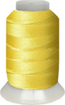 ThreaDelight Polyester Embroidery Thread Canary BRT MD 60 WT